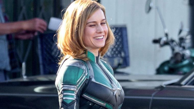Brie Larson desmente informação de que teria contrato para sete filmes com a Marvel