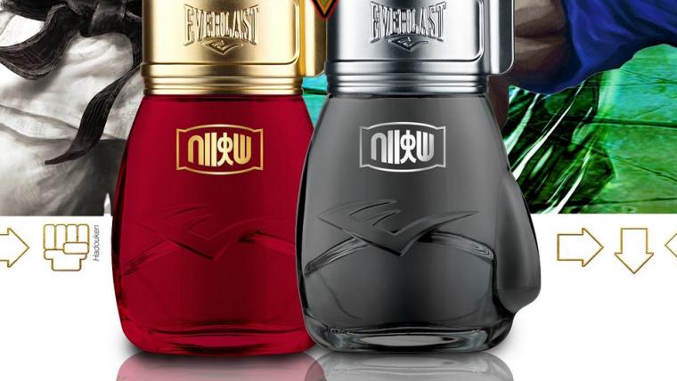 Cheiro de vitória: Everlast anuncia perfume de Street Fighter