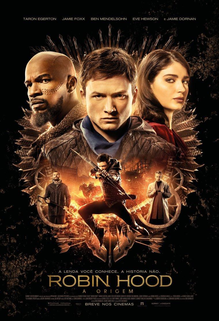 robin hood a origem poster