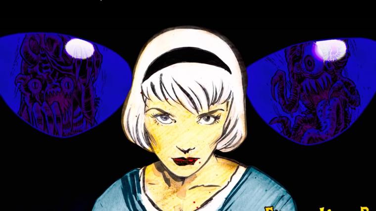 O Mundo Sombrio de Sabrina | Abertura homenageia HQs e clássicos do horror