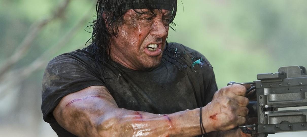 Sylvester Stallone está preparado na nova foto de Rambo V