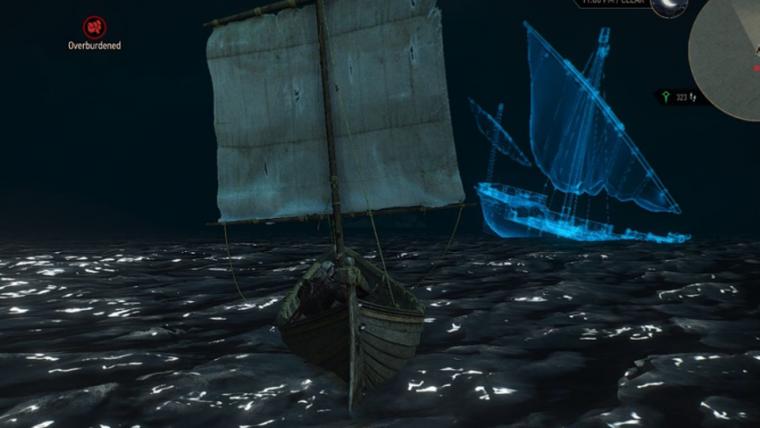 The Witcher 3 tinha um navio fantasma e quase ninguém percebeu