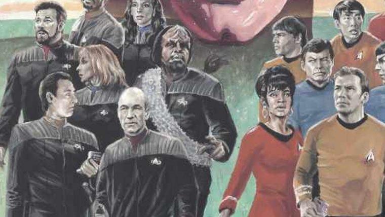 Star Trek | Quatro gerações da franquia vão se encontrar em HQ