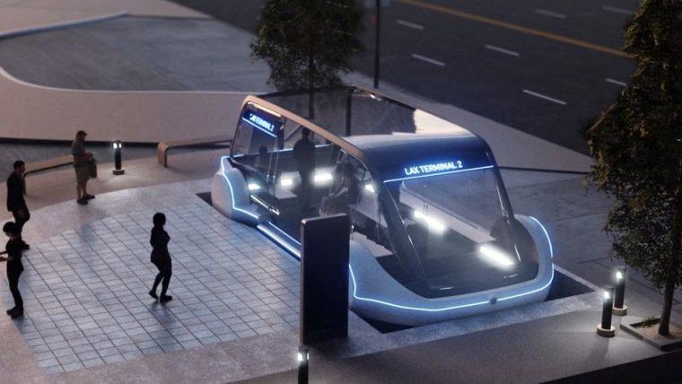 Transporte coletivo de Elon Musk deve começar a funcionar em dezembro