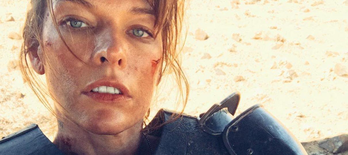 Milla Jovovich posta nova foto do filme de Monster Hunter para acalmar os fãs