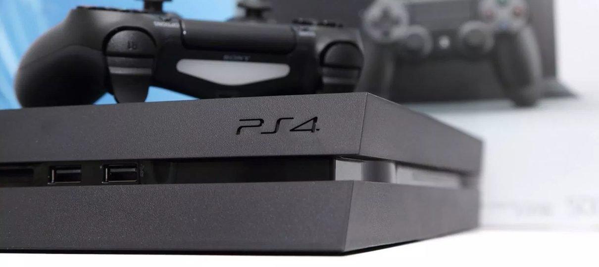 Sony diz ter corrigido problema com mensagens que travam o PlayStation 4