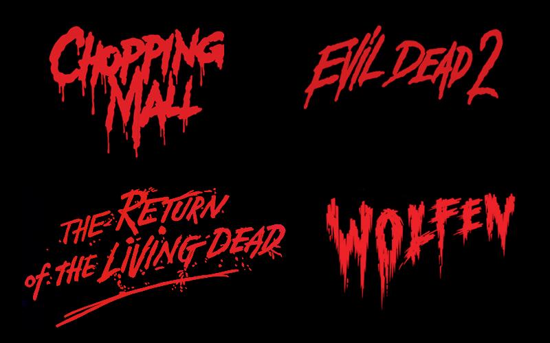 Fontes de filmes de terror dos anos 80