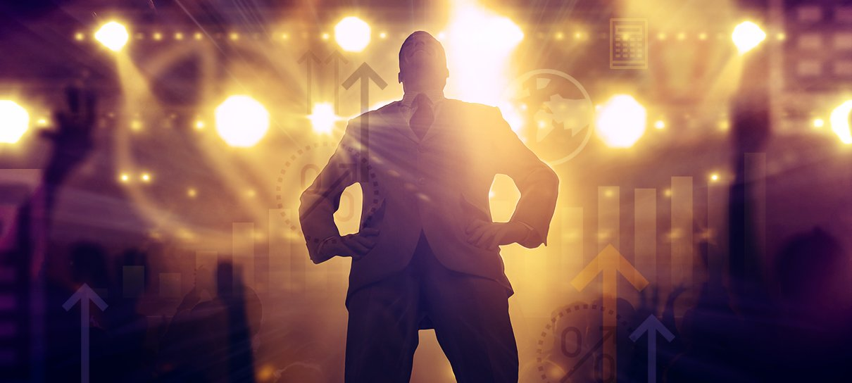 Empreendedor de palco