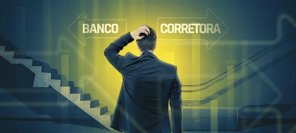 Dissecando as diferenças: Banco vs Corretora