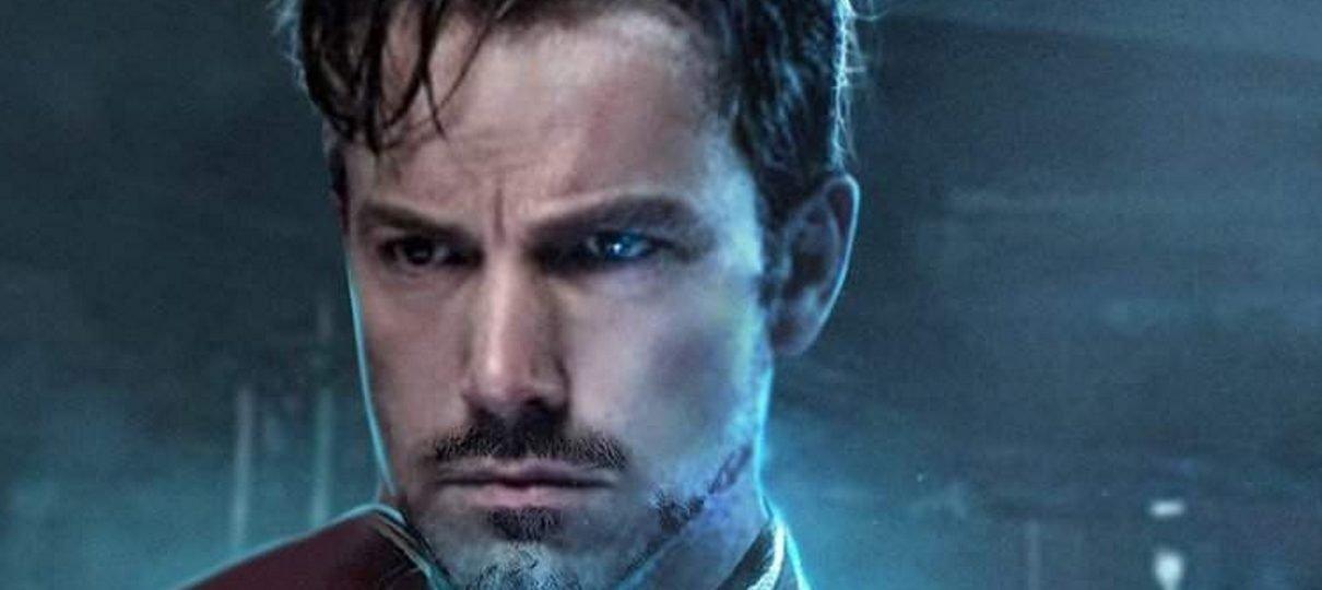 Ben Affleck como Homem de Ferro? Bosslogic imagina atores da DC como heróis Marvel