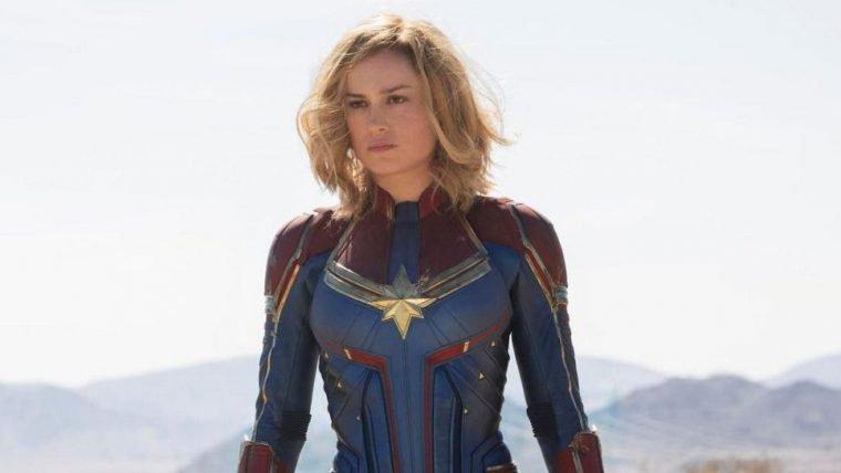 Brie Larson mostra para Chris Hemsworth que é digna do Mjolnir