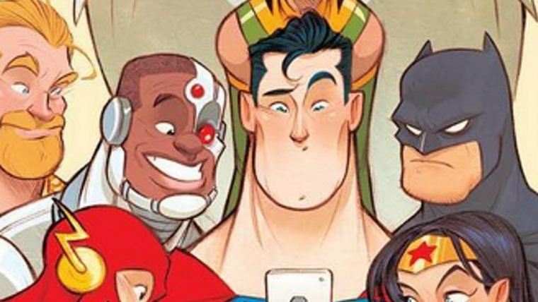 Liga da Justiça | Artista brasileiro revela arte de HQ infantil da equipe