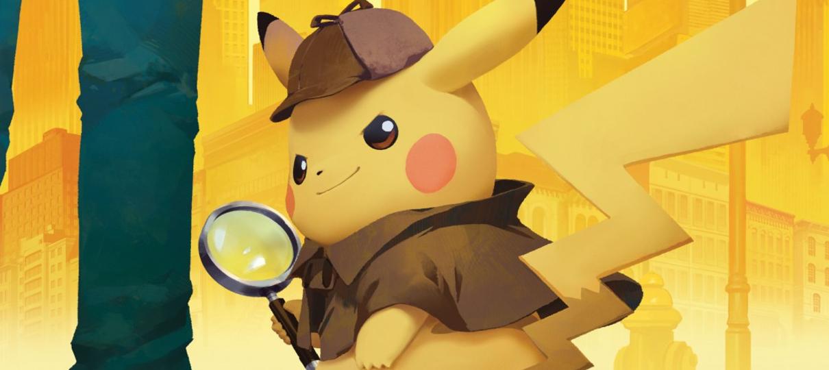Detetive Pikachu recebe elogios em primeira sessão de testes