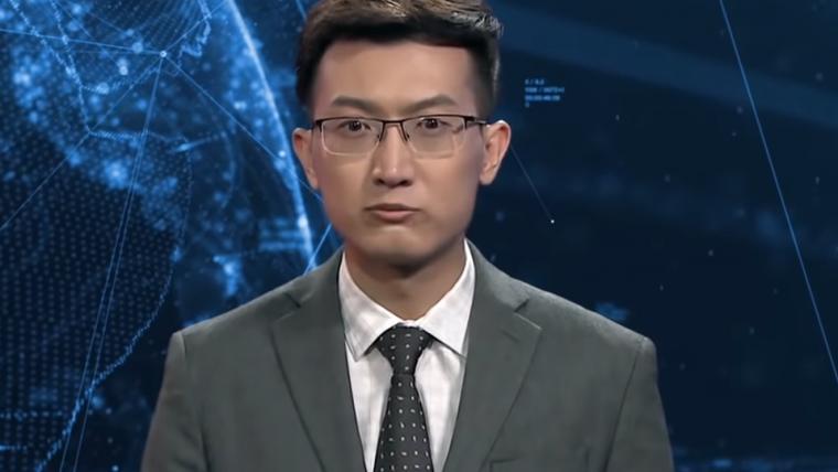 TV chinesa usa inteligência artificial como âncora de jornal