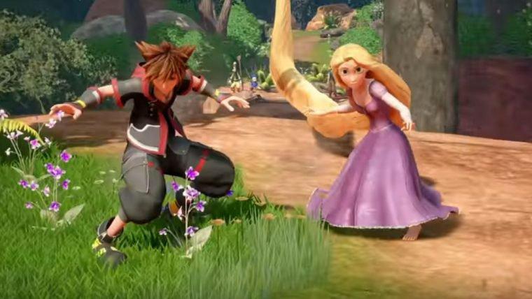 Kingdom Hearts III | Novo trailer mostra o mundo de Enrolados