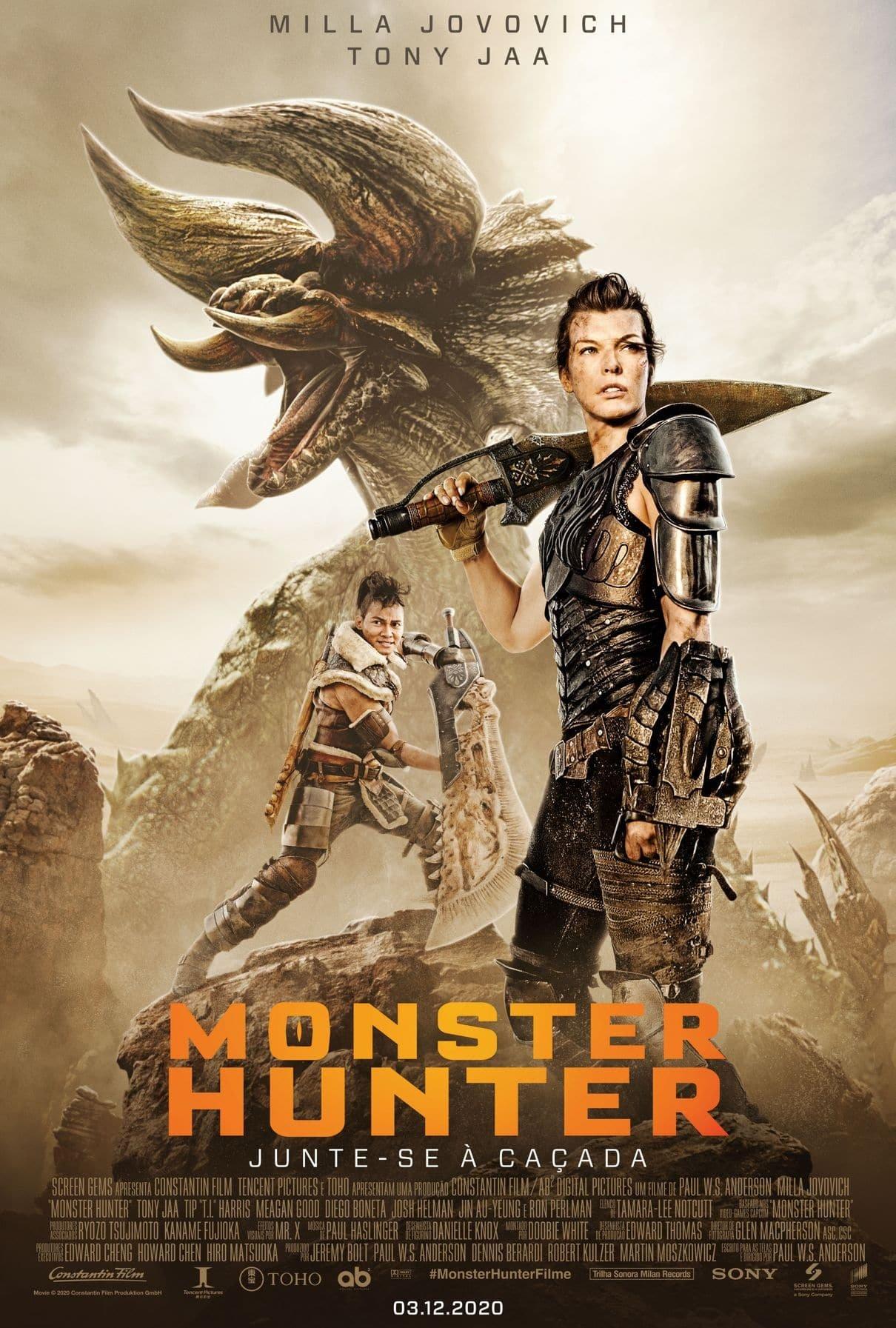filme monster hunter