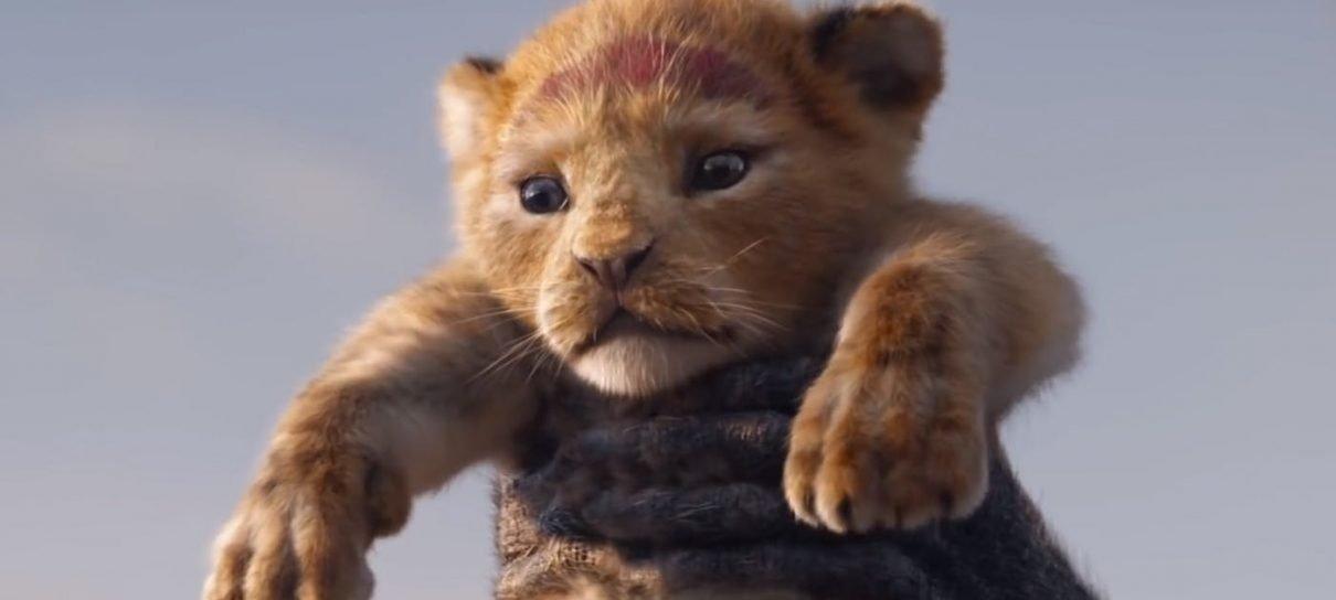 O Rei Leão é live-action ou não?