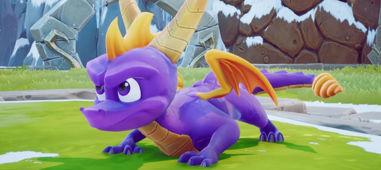 Dragão roxo está de volta! Spyro Reignited Trilogy já está disponível