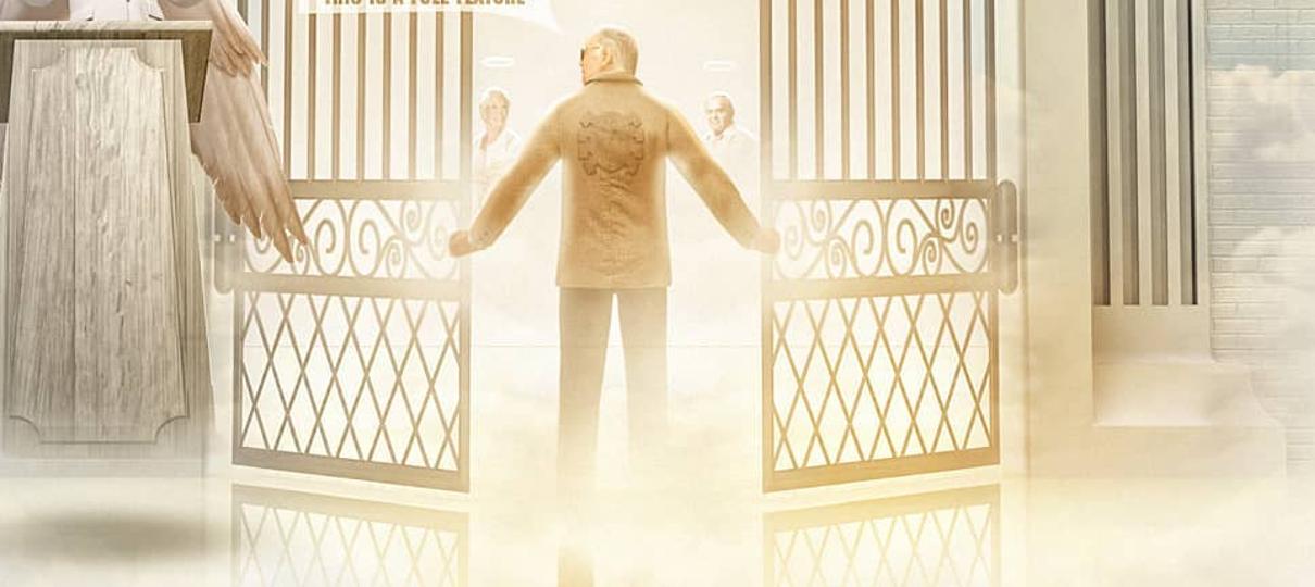 BossLogic homenageia Stan Lee com arte do quadrinista no paraíso