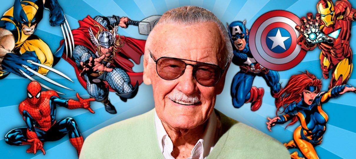 Infográfico: relembre a vida e a carreira de Stan Lee
