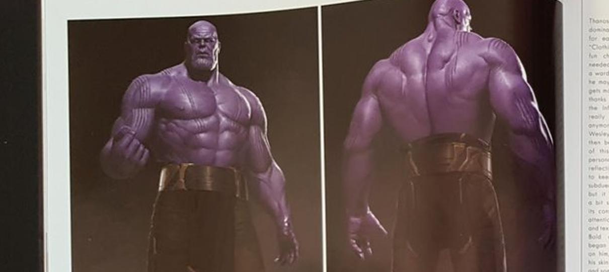 Thanos quase apareceu sem camisa em Guerra Infinita