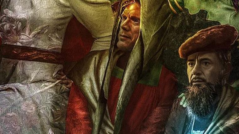 Bosslogic faz pintura dos Vingadores em estilo renascentista
