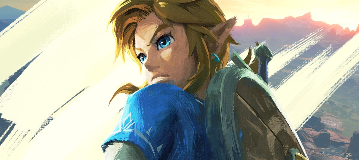 Livro de Zelda: Breath of the Wild revela arte mais... íntima de Link