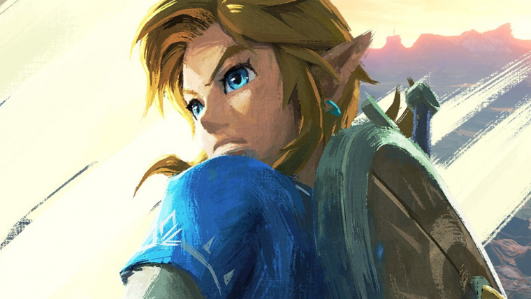 Livro de Zelda: Breath of the Wild revela arte mais... íntima de Link