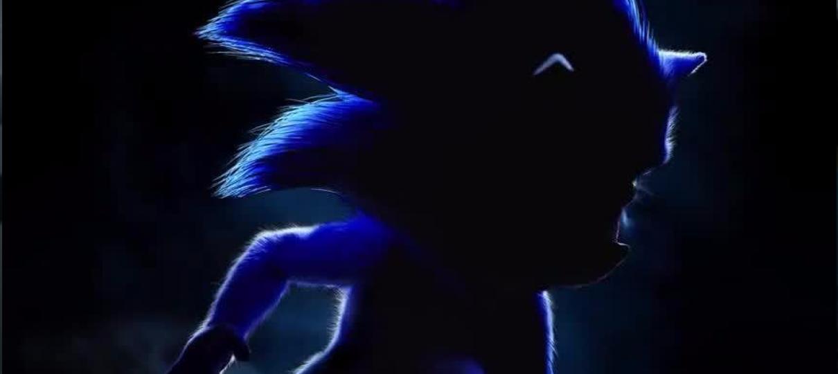 Sonic: O Filme ganha teaser com o visual do ouriço