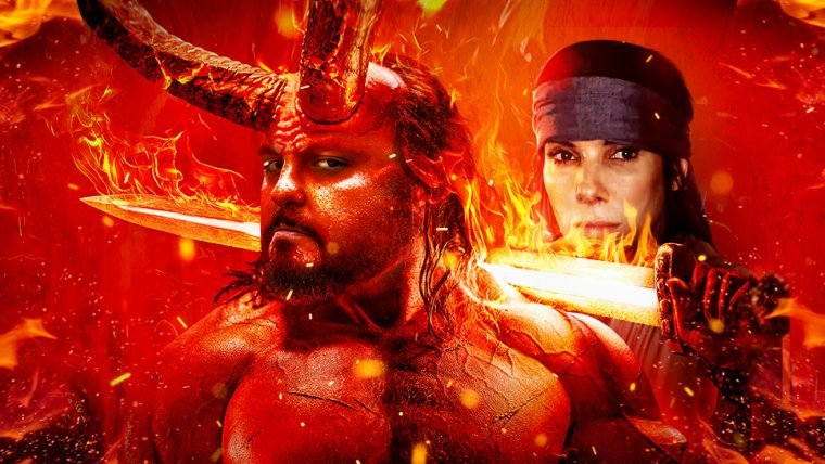 Trailer de Hellboy e entrevista Bird Box