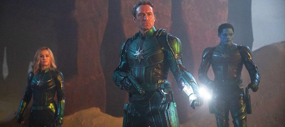Capitã Marvel | Brie Larson e Jude Law estão em nova imagem do filme
