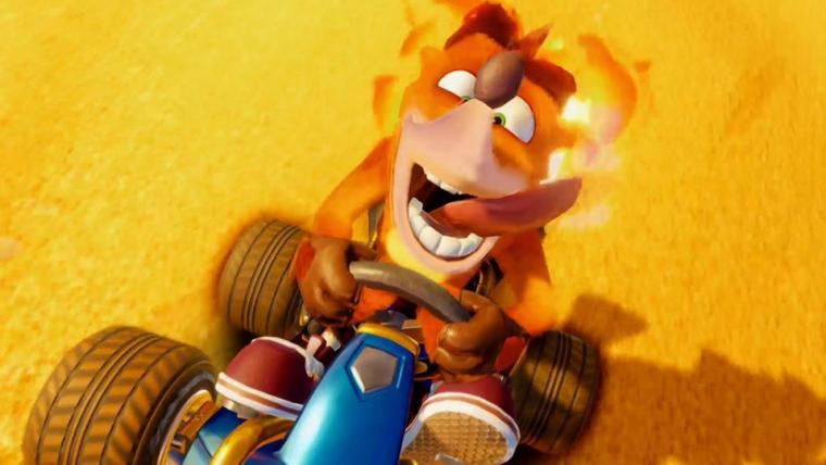 Crash Team Racing | Remake é anunciado com partidas onlines e visuais refeitos