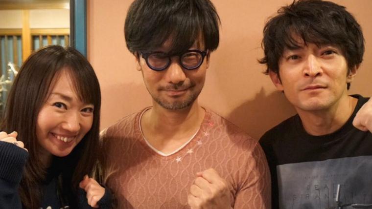 Death Stranding | Kojima mostra fotos de bastidores da dublagem japonesa do jogo