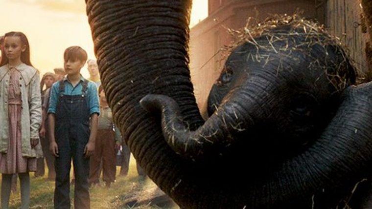 Dumbo aparece ao lado de sua mãe em nova foto do filme