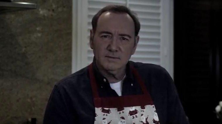 House of Cards   Kevin Spacey quer ser Frank Underwood em novo vídeo