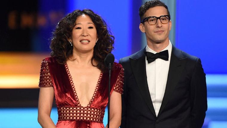 Andy Samberg e Sandra Oh serão os apresentadores do Globo de Ouro