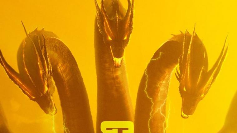Godzilla II: Rei dos Monstros   Monstros estão a solta em novos cartazes