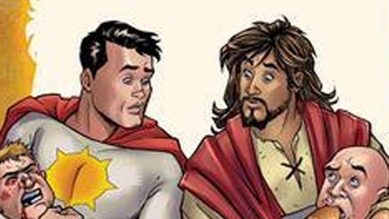 Jesus Cristo será super-herói em HQ da DC Vertigo
