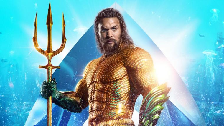 Jason Momoa revela que Aquaman foi inspirado por Tool, Metallica e Black Sabbath