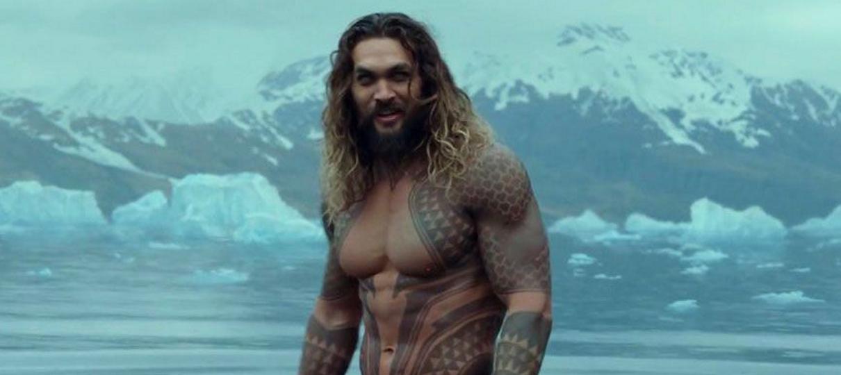 Jason Momoa faz o haka em premiere de Aquaman