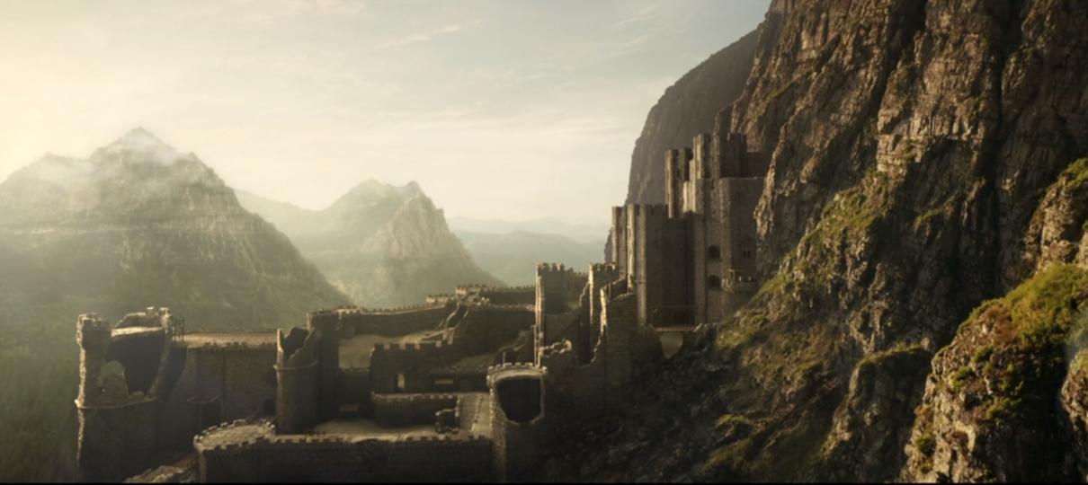 The Witcher   Vídeos de bastidores da série da Netflix mostram Kaer Morhen