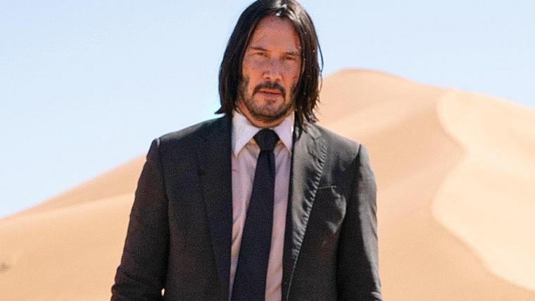 Keanu Reeves aparece com cachorros em foto oficial de John Wick 3