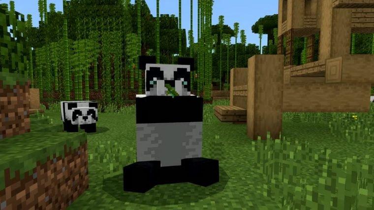 Minecraft | Plante bambus no jogo para salvar pandas no mundo real