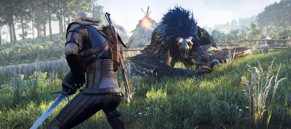 Geralt, de The Witcher 3, será personagem jogável de Monster Hunter: World