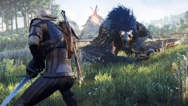 Geralt, de The Witcher 3, será personagem jogável de Monster Hunter: World