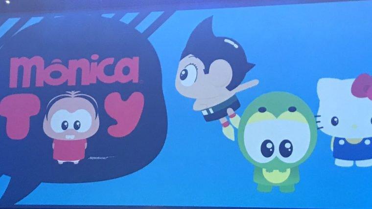 Mauricio de Sousa anuncia colaboração entre Mônica Toy, Hello Kitty e Astroboy