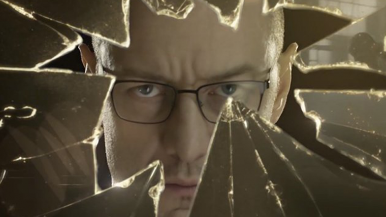James McAvoy interpreta vinte personalidades diferentes em Vidro