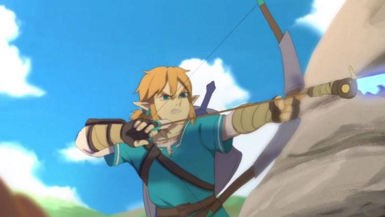 The Legend of Zelda: Breath of the Wild | Animação feita por fã vai aquecer o seu coração