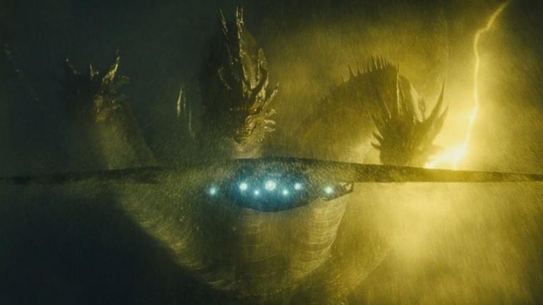 Godzilla II: Rei dos Monstros   King Ghidorah aparece imponente em nova imagem