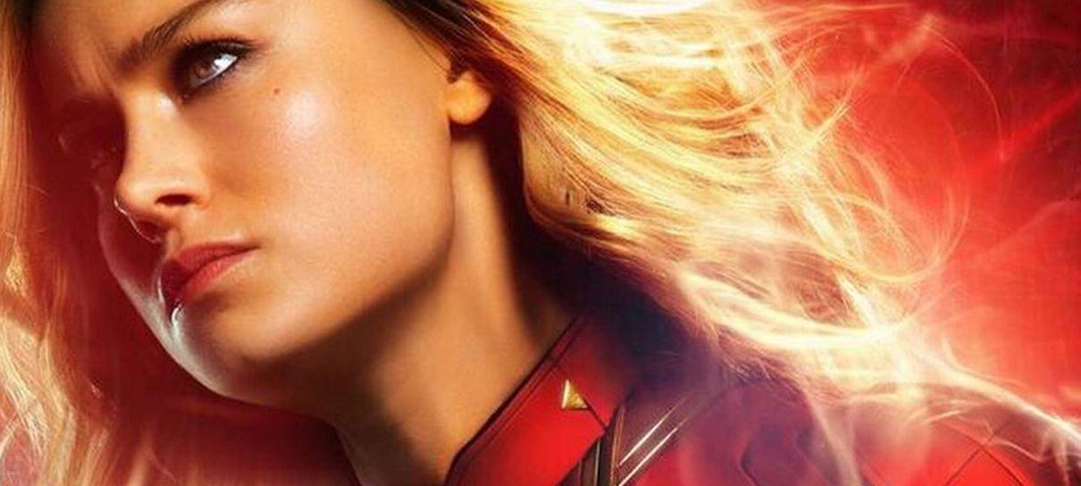 Capitã Marvel ganha novos pôsteres individuais dos personagens